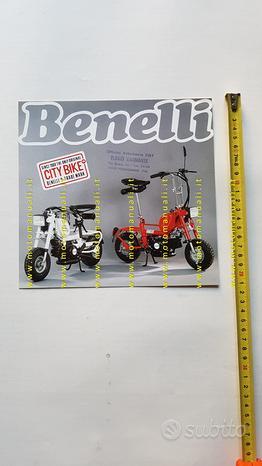 Benelli 50 Citibike 1988 depliant brochure