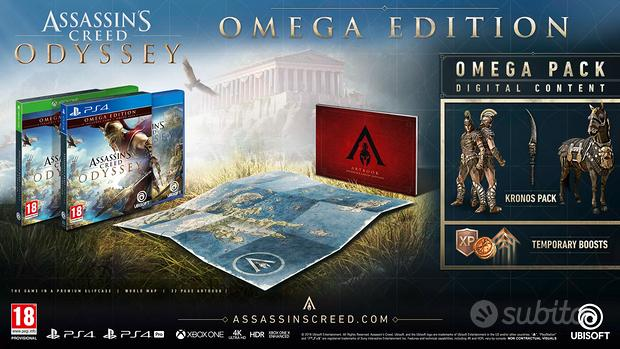 Assassin's creed odyssey omega edition ps4