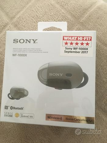 Sony WF-1000X BM - Auricolari stereo senza fili