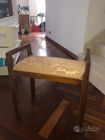 Sedie in legno laccato, antiquariato, vintage