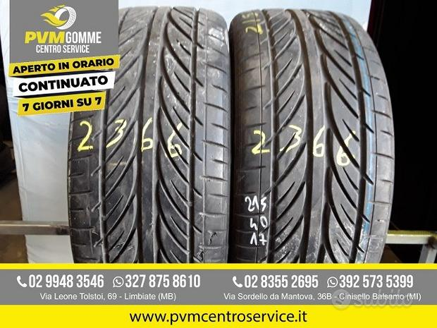 Gomme usate 215 40 17 87y hankook