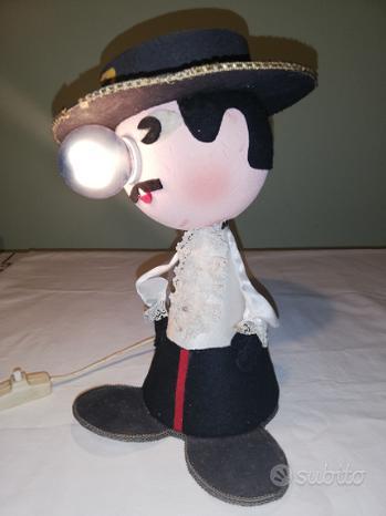 Lampada tavolo vintage Zorro