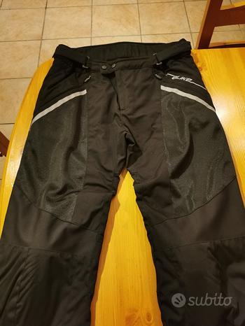 Pantaloni uomo moto estivi a-like nero taglia 2xl