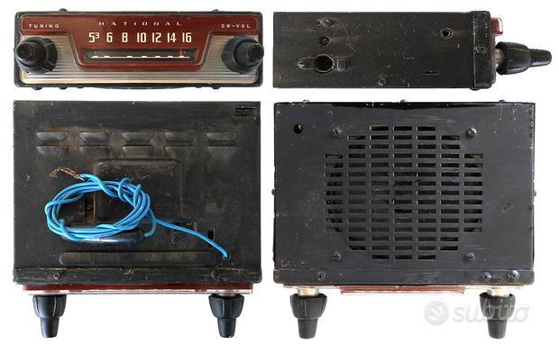 Autoradio vintage National anni '60
