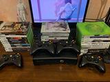 Xbox 360 + 31 Giochi + 4 Controller