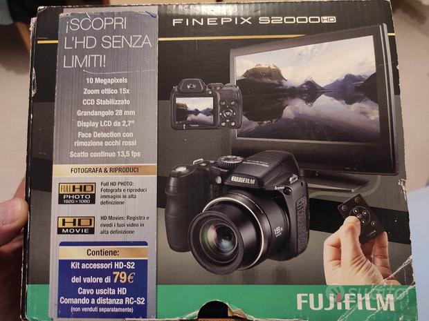 Fotocamera fujifilm finepix s2000hd