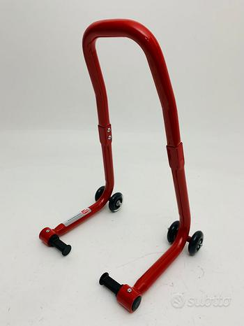 Cavalletto anteriore rosso ducati monster diavel