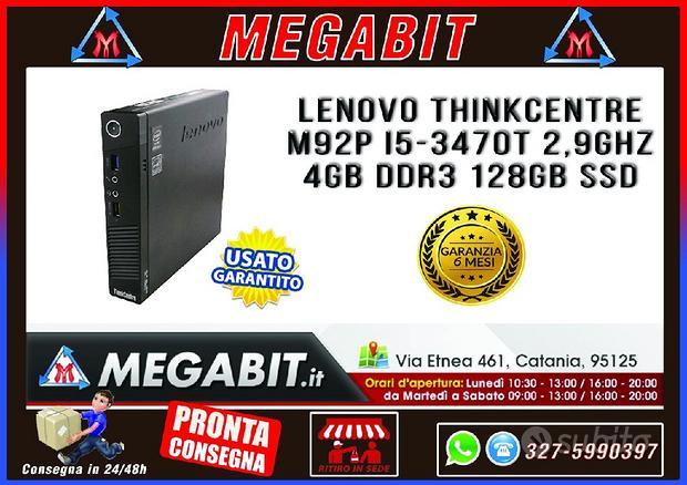 Micro PC LENOVO Thinkcentre M92P i5 4Gb 128Gb SSD