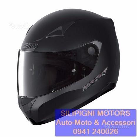 Nolan n60-5 sport 13 flat black + visiera green