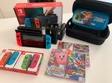 Nintendo Switch super accessoriata
