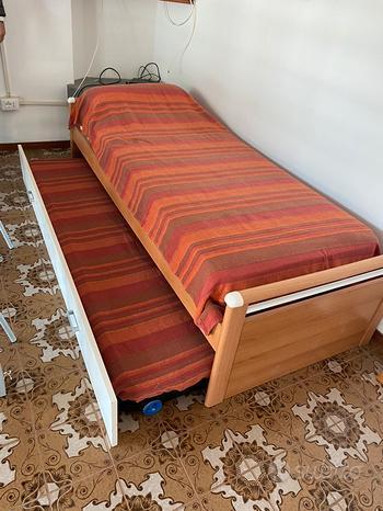 Letto e struttura secondo letto sgombero
