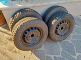 VENDUTE 4 x Ruote complete pneumatici cerchi usati