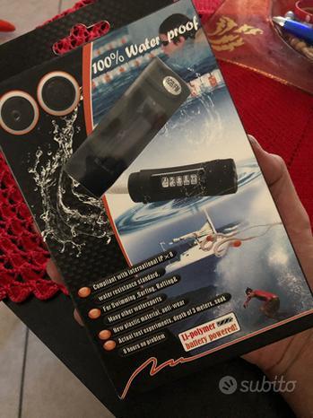 Lettore MP3 8Gb + FM subacqueo NUOVO