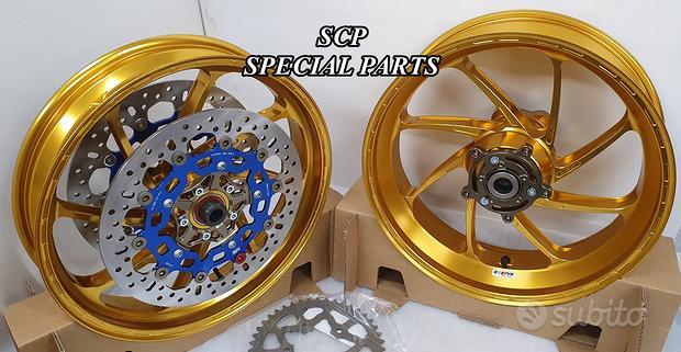 Cerchi ruote forgiate superbike yamaha r6 06 20