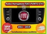 Navigatore car Tablet per FIAT PUNTO Dal 2011-2019