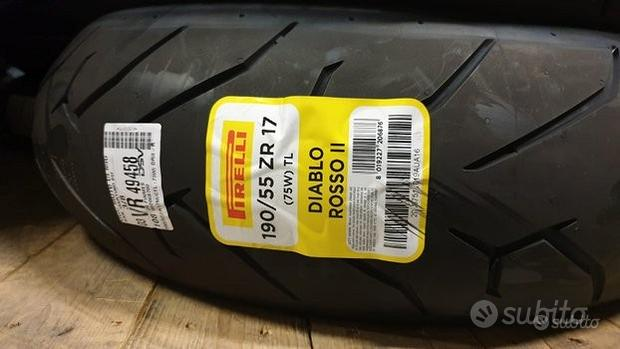 Pirelli Diablo Rosso II 190/55 ZR17