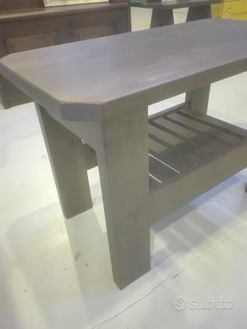 Tavolino salotto in legno
