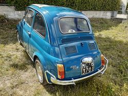 Fiat 500 L - 1969- targa ASI ORO