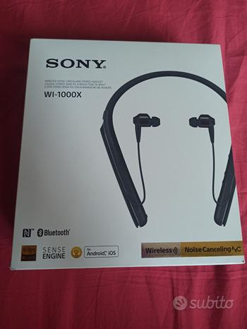 Cuffie Sony WI-1000X Bluetooth noise canceling