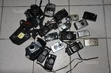 Lotto macchine fotografiche Nikon canon yashica