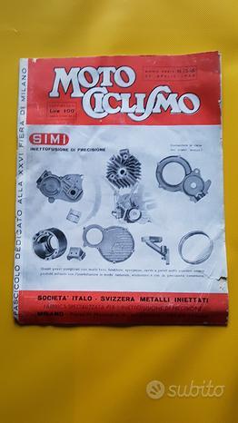 MOTOCICLISMO Rivista fascicolo n.15-16 1948 sposi