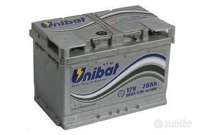 Batteria auto start & stop efb 70