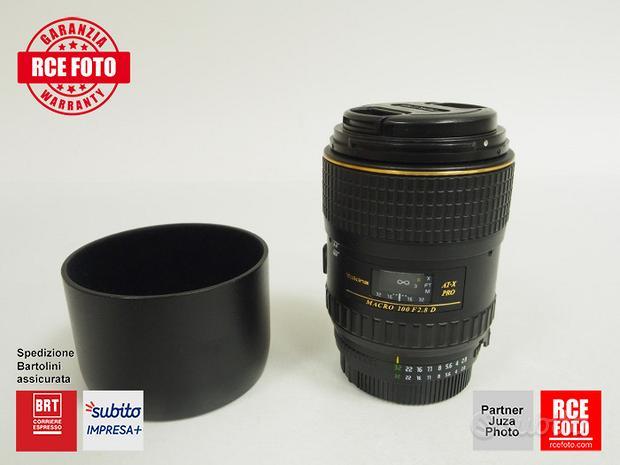 Tokina AT-X Pro 100 F2.8 Macro (Nikon)