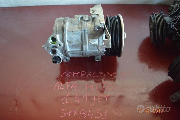 Compressore fiat;alfa;lancia;punto;500;600;doblo;