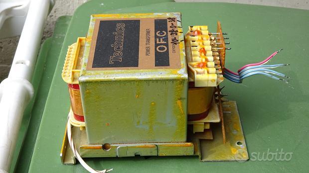Trasformatore per amplificatore HI-FI