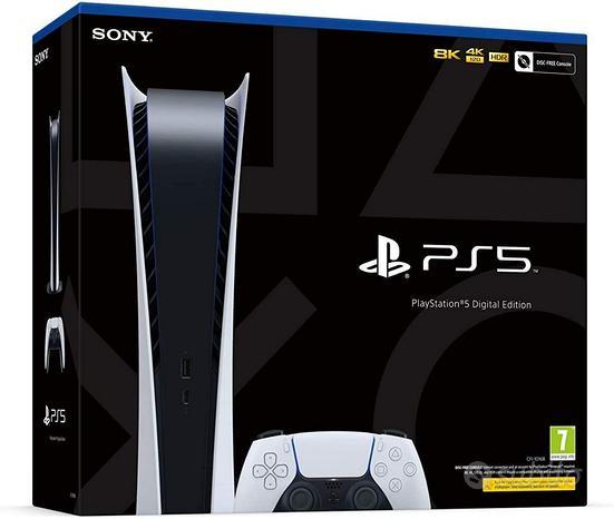Playstation 5 Digital Edition Nuova Garanz. Amazon