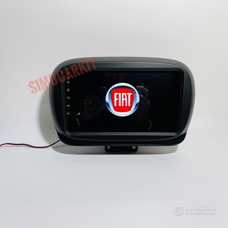 Autoradio Navigatore Android 10 Per Fiat 500X