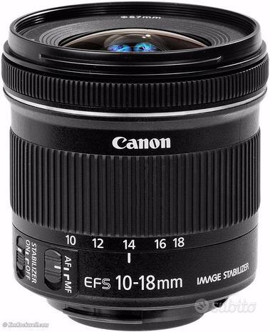 Canon 10-18 / 55-250