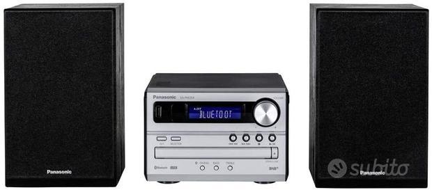Panasonic SC-PM254EG-S - Micro con sistema HiFi