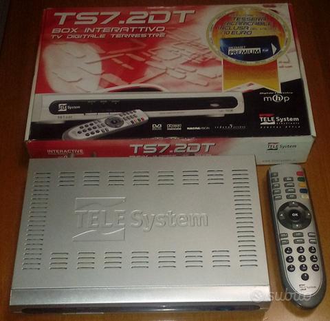 TS7-2DT Box interattivo TV Digitale Terrestre