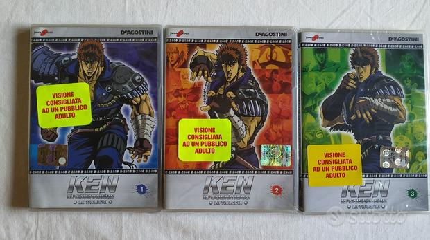 Ken Il Guerriero-La Trilogia (DVD nuovi cellofan)
