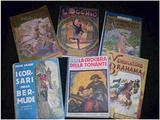 Lotto 6 libri Salgari / Motta