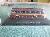 Modellino bus Henschel