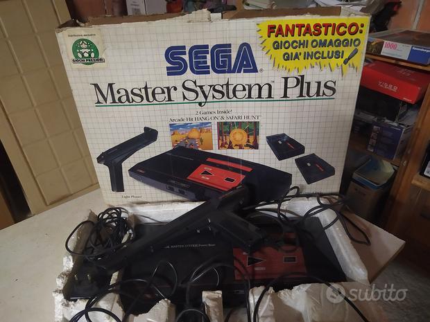 SEGA Master System Plus console con OVP + 2 Contro