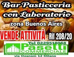 Storico BAR PASTICCERIA in zona Buenos Aires