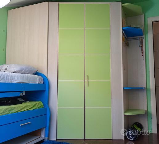 Cabina armadio camera da letto o cameretta