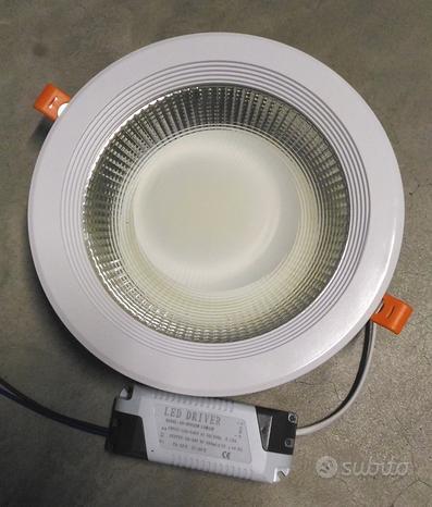 Faretto controsoffitto LED 30W luce 4000