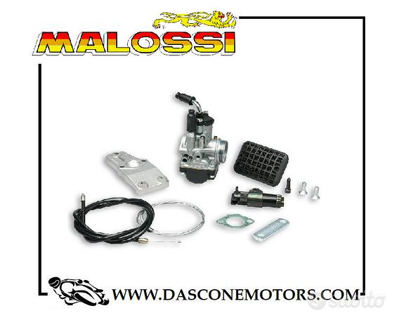 Kit carburatore phbg malossi piaggio 50 ciao mix