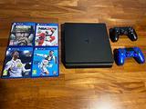 Playstation 4 slim 1TB 4 giochi 2 controller