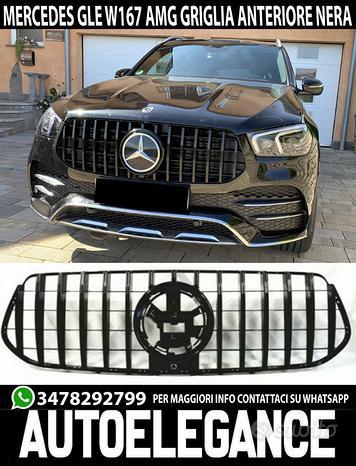 Mercedes gle amg c167 w167 2019+ griglia anteriore