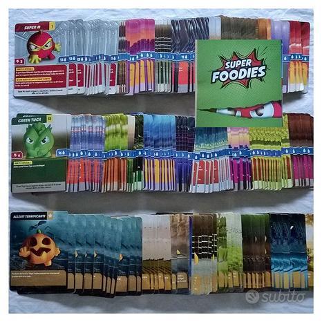 ( G&B ) Esselunga: Carte Super Foodies 0,10