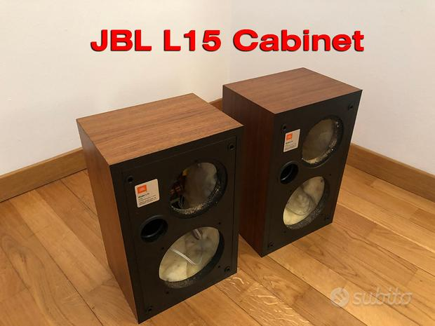 JBL L15 L-15 Cabinet noce MINT