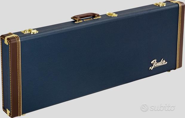 Fender Classic Wood Case Strato / Tele Navy Blue