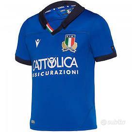 Maglia Nazionale Italia Rugby Macron nuova