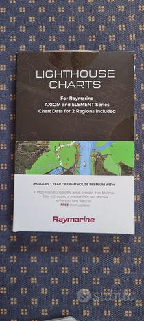 Raymarine Lighthouse Charts Italia Francia