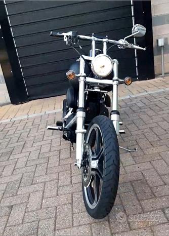 Splendida Harley Davidson softail night train
